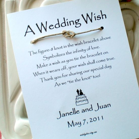 a wedding wish