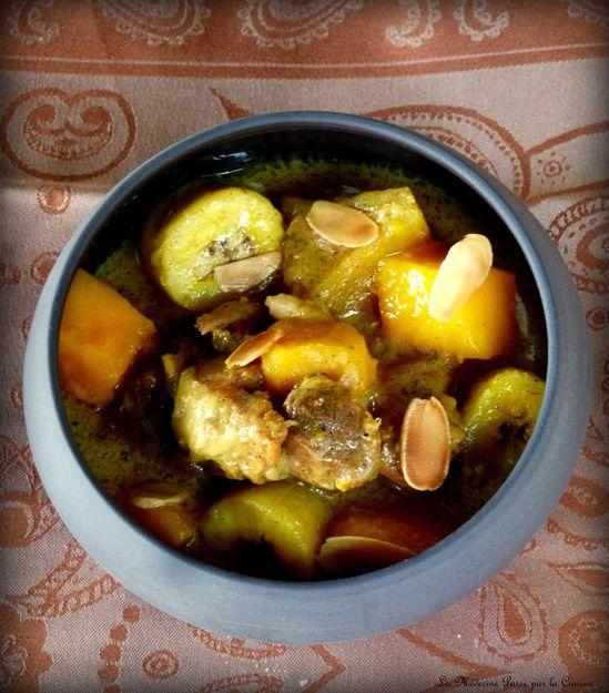 Curry d'agneau aux f