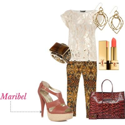 Maribel peep toe sandal #shoes