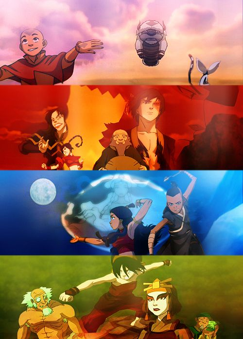 -Last Airbender   I think it's safe to say that Earth is the wackiest of the four kingdoms
