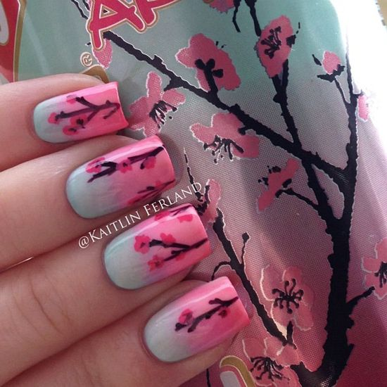 Arizona Tea nail art