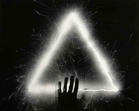 light paintings by Jozef Sedlák, 1990
