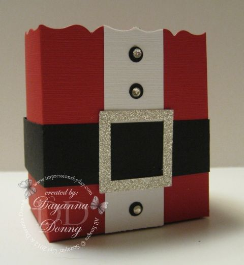 Santa Fancy Favour Box
