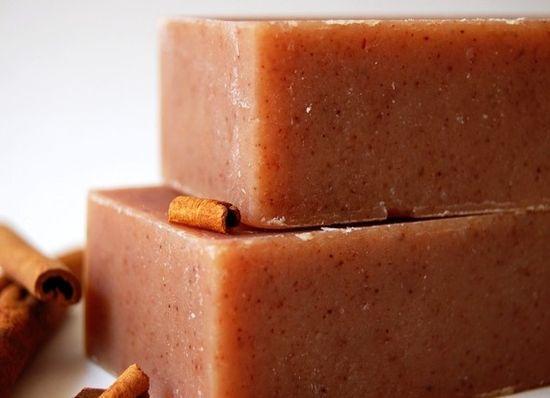 Cinnamon soap... mmmm.