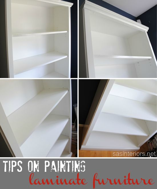 DIY- How-To Paint Laminate Furniture - Full Step-by-Step Tutorial