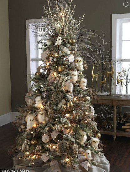 site has dozens ideas for mantle & Christmas tree decor. Pinning this for later.