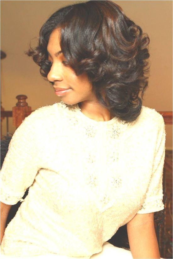 Mae's straightened natural hair. Healthy and full of volume. #curlyhairrocks #naturalhair #curlyhair #blackhair #bhi