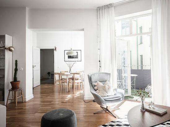 Scandinavian Living Room  Board