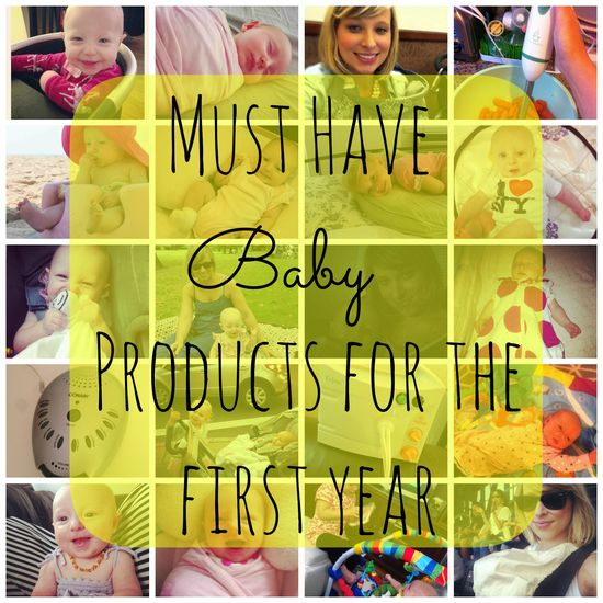 20 Baby Products I Used the Most During Baby's First Year