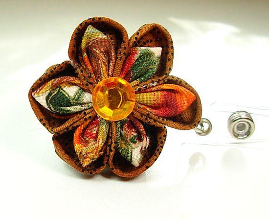 handmade flower clip