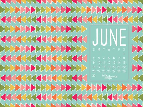 June Desktop Wallpaper via kellyashworth.com