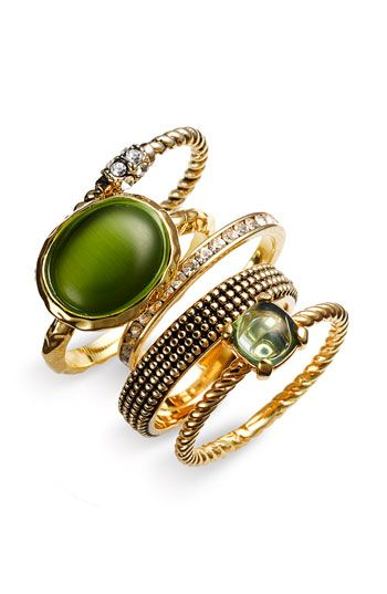 more stackable rings - $68.00