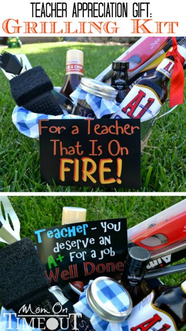 Teacher Appreciation Gift Idea: Grilling Kit
