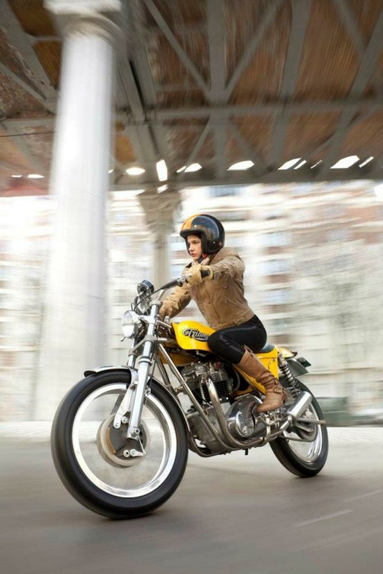 Motorcycle Girl 041 ~ Return of the Cafe Racers