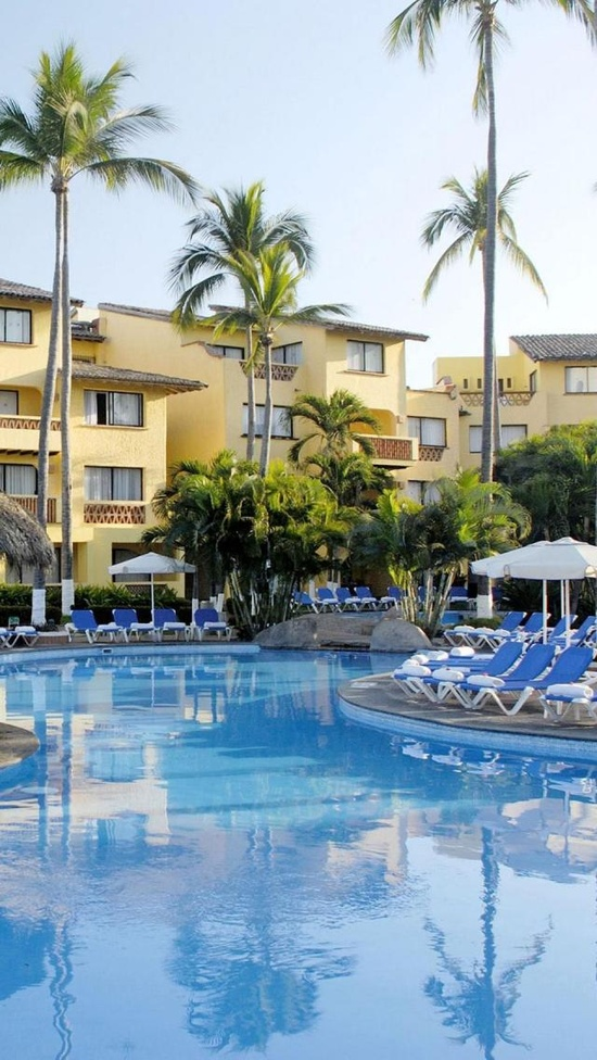 Plaza Pelicanos Grand, Puerto Vallarta, Jalisco, Mexico, North America, Geography, Beach, Resort,