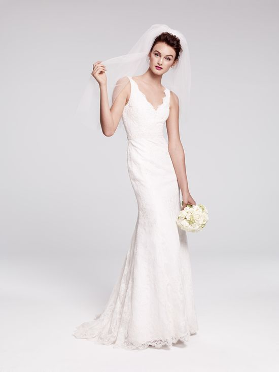 Bliss Monique Lhuillier embroidered lace sheath, new to Nordstrom Wedding Suites