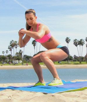 The Surfer Body Workout (just 4 moves!)