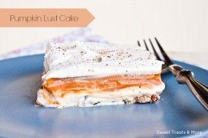 Pumpkin Lust Cake Recipe