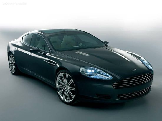 The Aston Martin Rapide has 470 bhp!