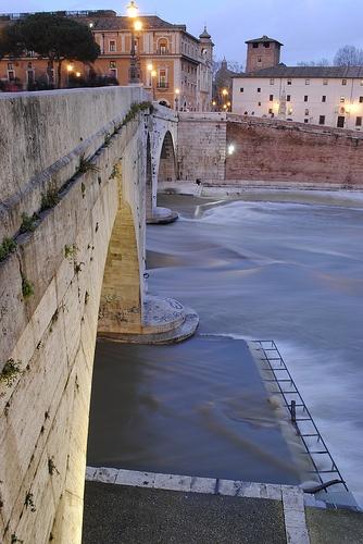 Tiber Island, Rome.