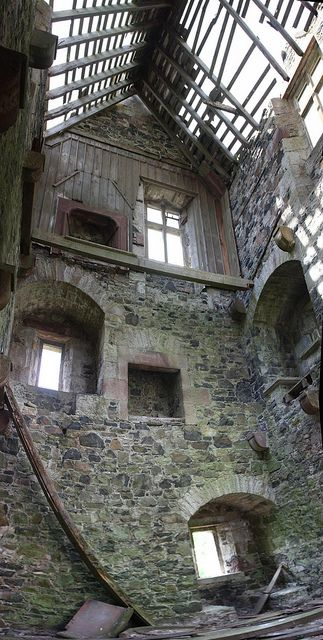 ? Fatlips Tower - 16th Century - Roxburghshire, Scotland