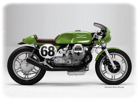 MotoGuzzi Café Racer.
