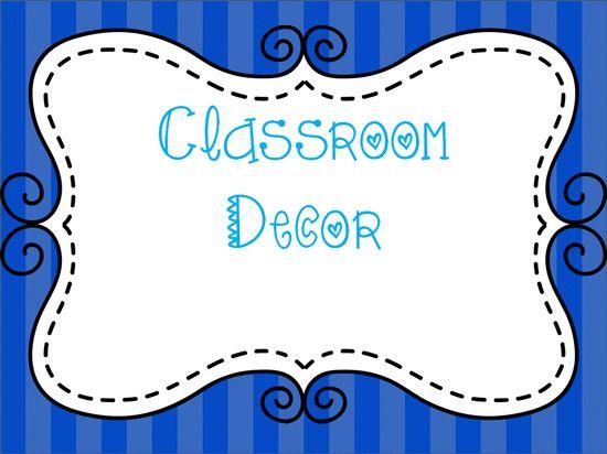 Classroom Decor Black And White ~ Classroom decor ideas black and white chevron