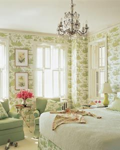 Like the idea of a Country French inspired Master Bedroom Home Decor Photos from The Nest