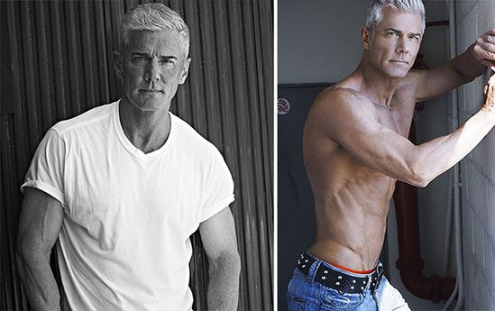 Old male models pictures