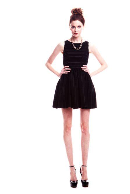 paper crown {little black dress}