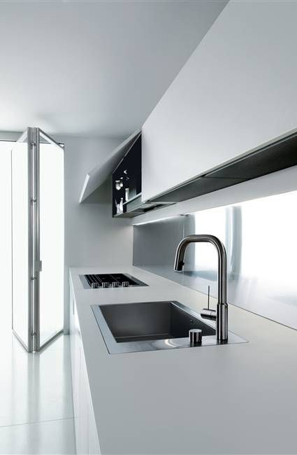#interiors #design #kitchen #minimal #modern #white - Boffi kitchens WK6 by Piero Lissoni