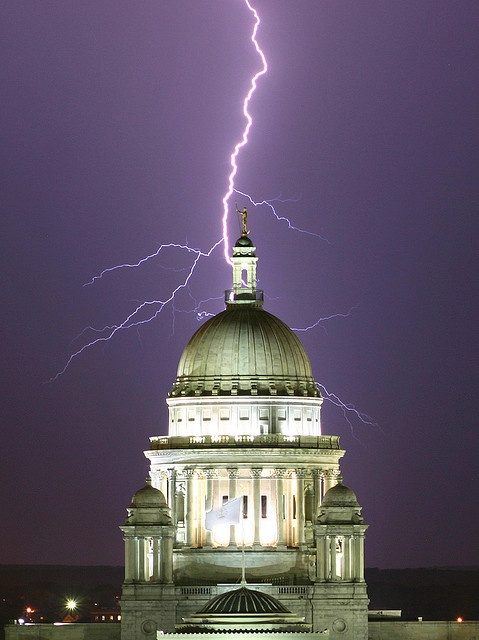 Lightning Strike in Providence