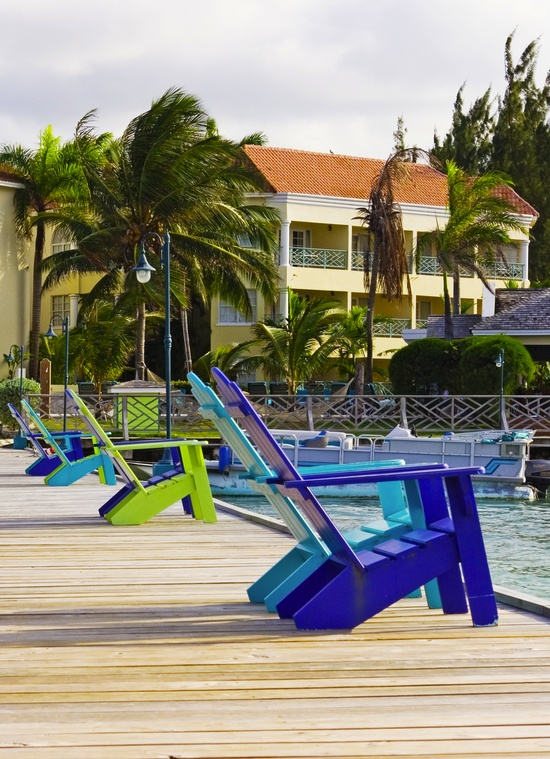Relax and enjoy the scenery in Jamaica
