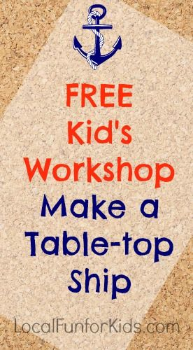 Home Depot Free Kid's Workshop November 2013 - Home - Easy, Fun & Free Things to Do With Kids