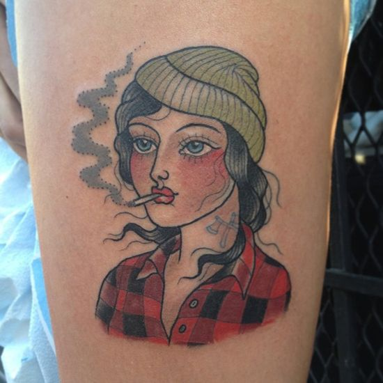 Awesome Portrait Tattoo Designs