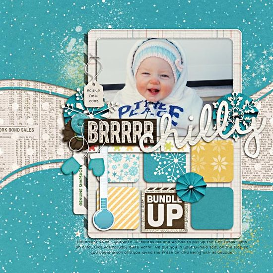 papercraft #scrapbook layout