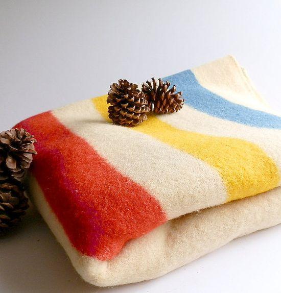 Vintage Adirondack Wool Blanket OrrAlaskan