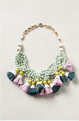 tasseled necklace. going to need.