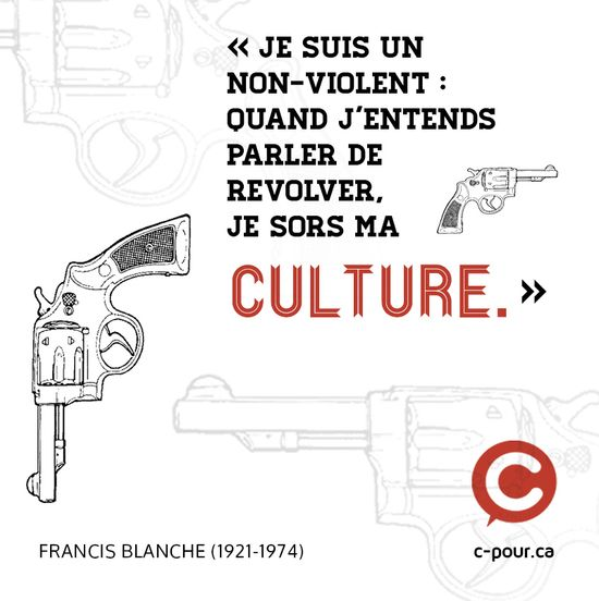 Quelques citations dartistes ou sur lart. Source: © c-pour.ca / Annie Chenier Design: Marilou Levasseur