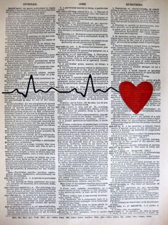 Heart Beats  ORIGINAL ARTWORK  Hand Painted  by sherryannshop, $10.00