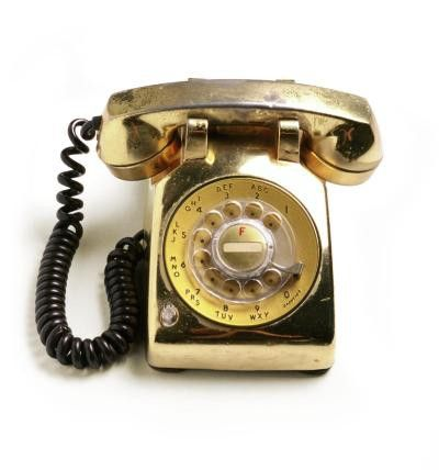 #gold rotary dial teli