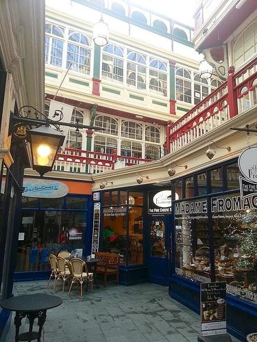 Castle Arcade in Cardiff