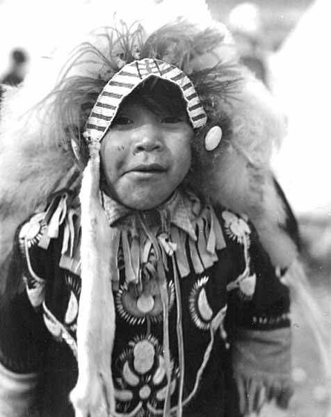 Native American Boy by  Unknown Artist