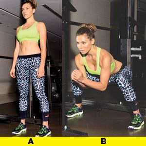 Learn the right way to do this exercise, and get four more moves for an AWESOME weight-room workout here: www.womenshealthm...