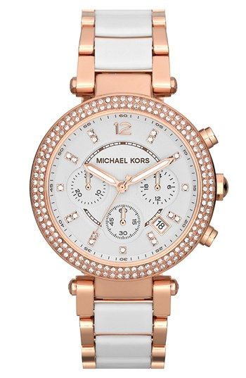 Michael Kors 'Parker' Chronograph Watch, 39mm available at #Nordstrom