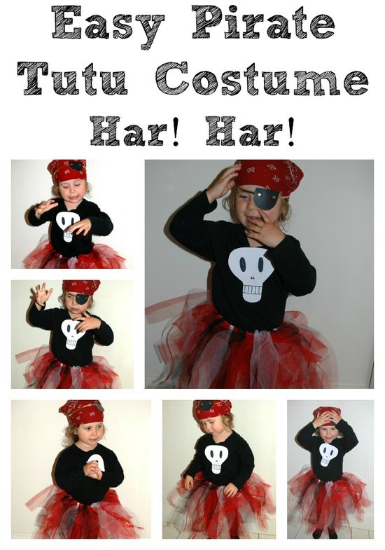 Easy Halloween Costume: Pirate!