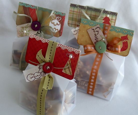 Christmas treat bags by lilybeanpaperie.t...