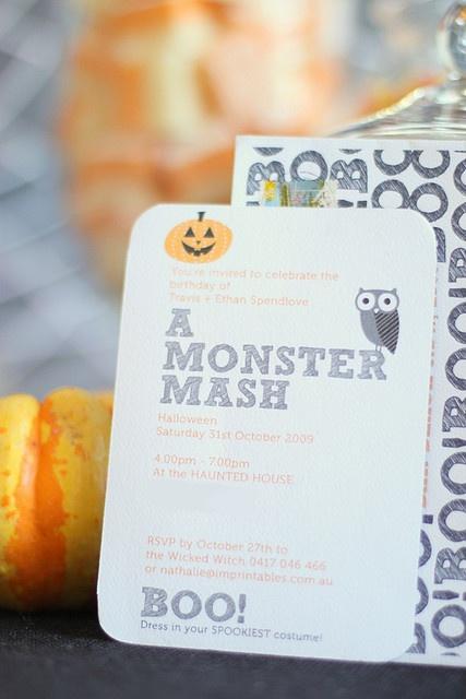 Cute halloween party idea!