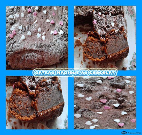 Mon Gâteau magique a