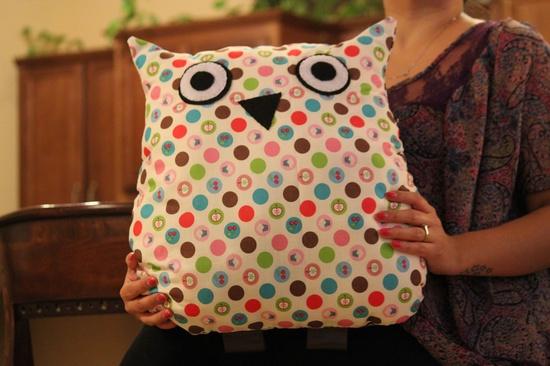 Owl Pillow / Stuffed Animals